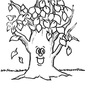 Fall Tree Printable ClipArt Best