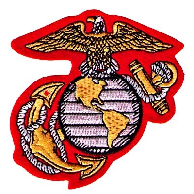 Marine Corps Insignia Iron On Military Patch - LL1684 - ClipArt ...