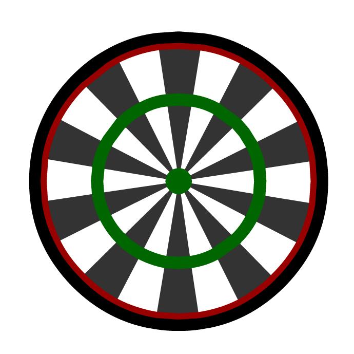 clipart darts dartboard - photo #13