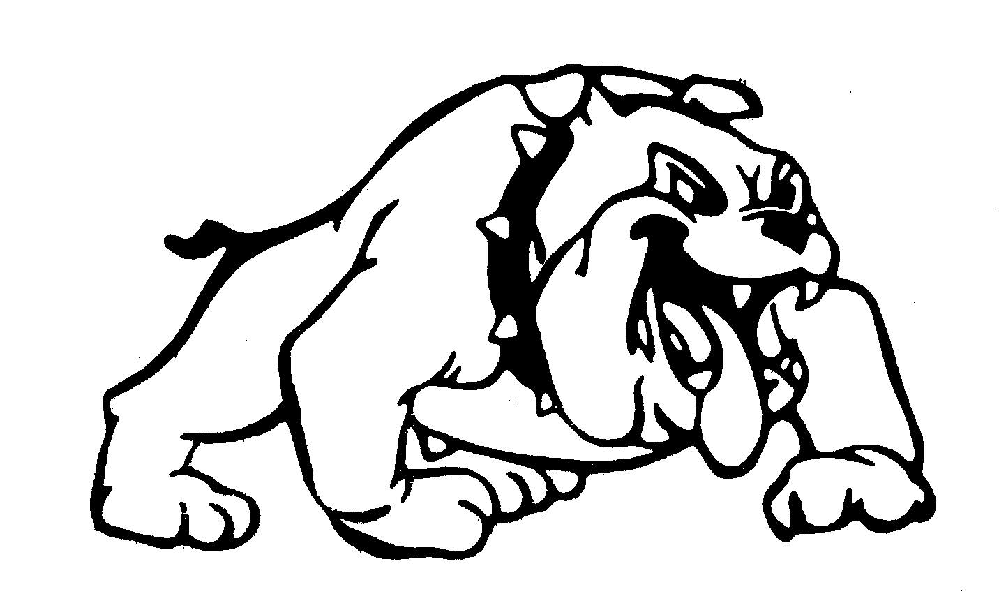 school bulldog coloring pages - photo#33