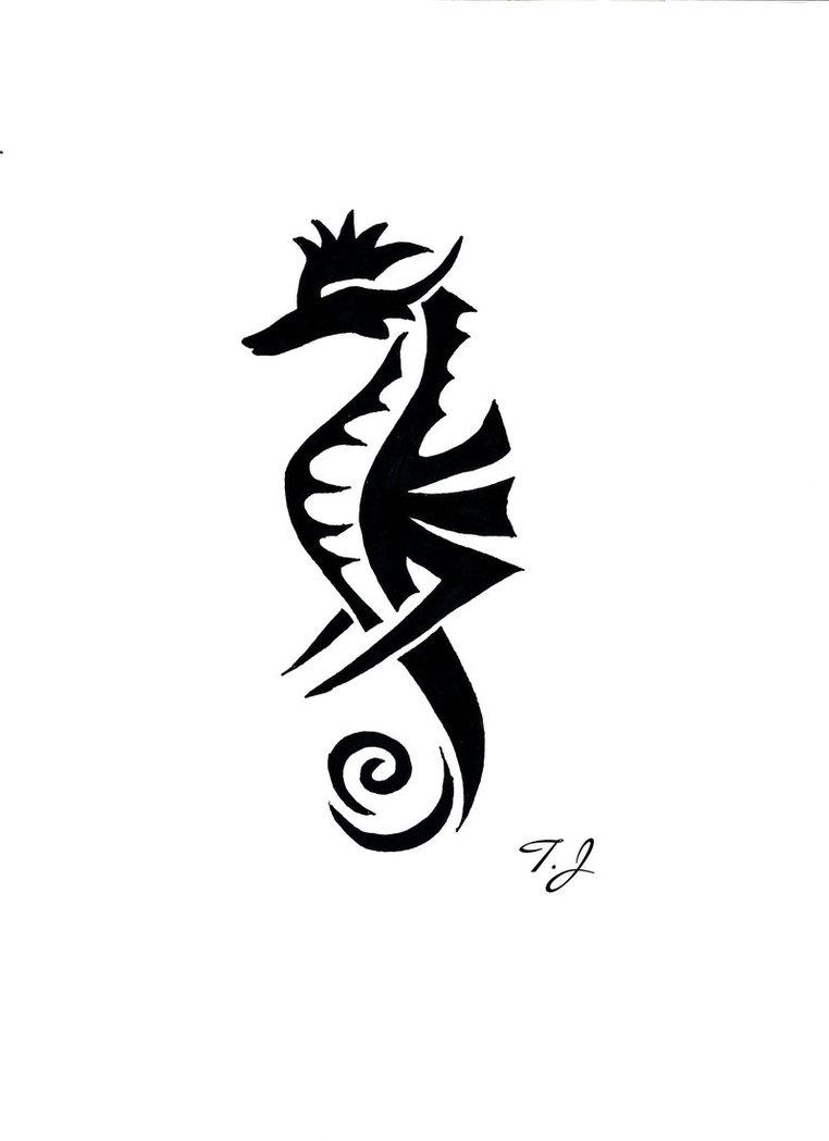 Cool Seahorses Drawing Seahorse · Deviantart