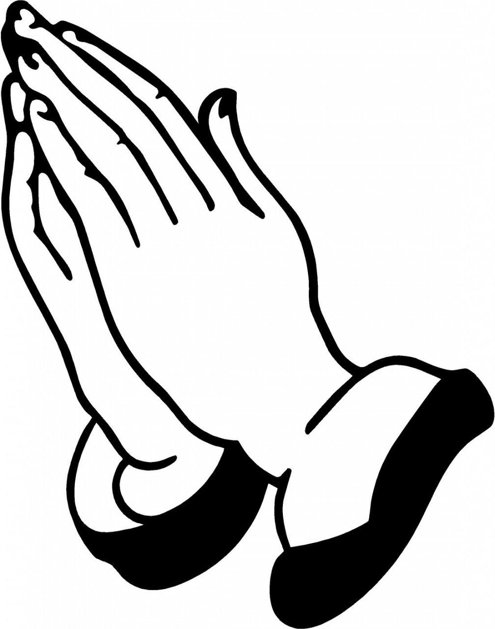 prayer hands clip art clipart best