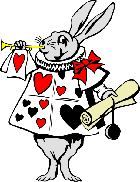 Alice in wonderland clipart free