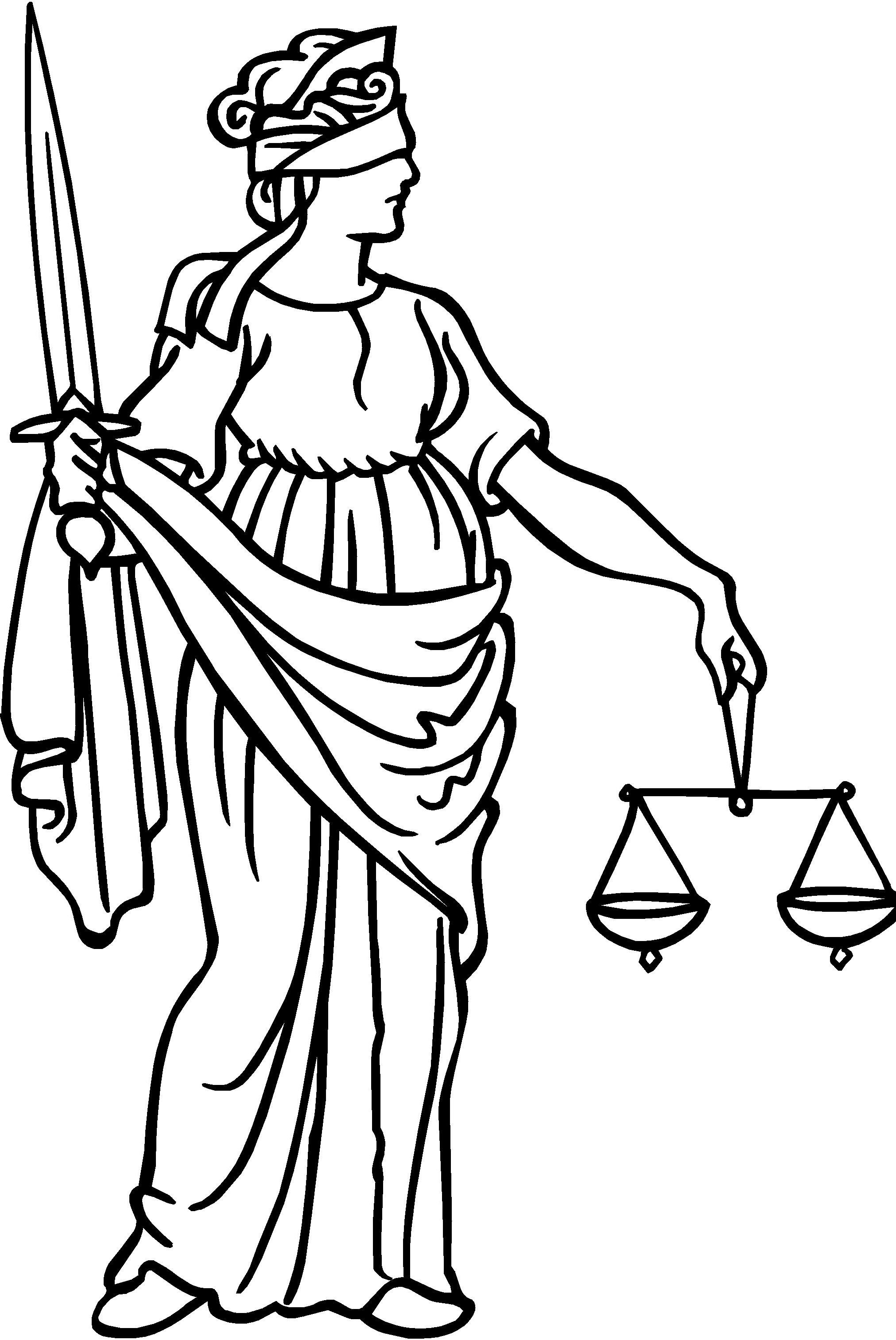 scales of justice drawing clipart best