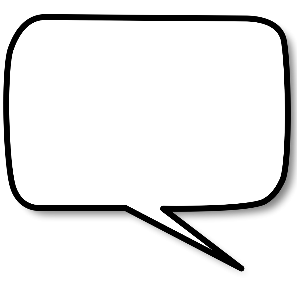 Speech Bubble | Free Stock Photo | Illustration of a cartoon ...: www.clipartbest.com/clipart-LTKkLq9jc