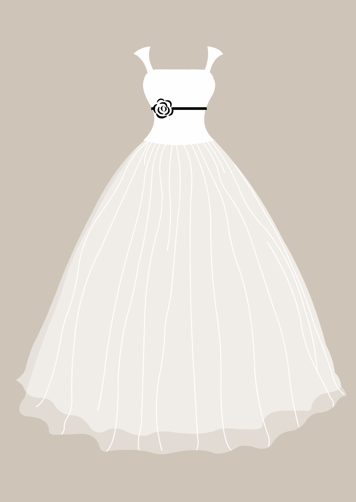 wedding gown clipart free - photo #12