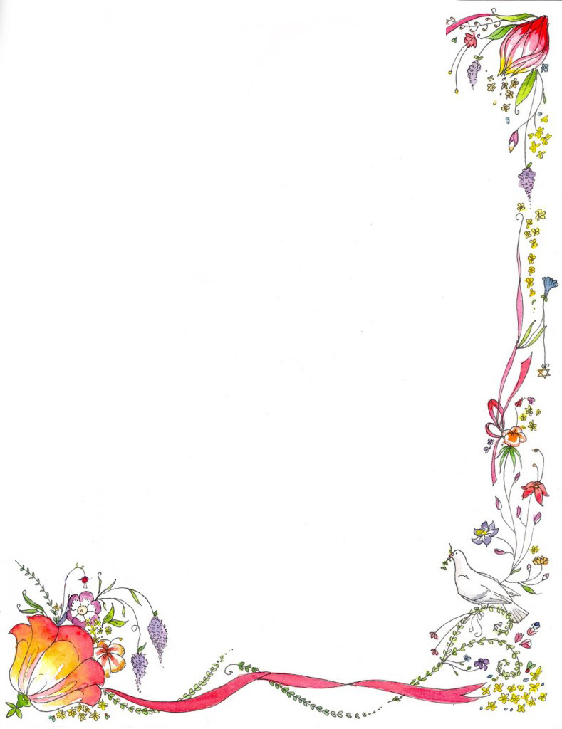 simple corner border designs clipart best