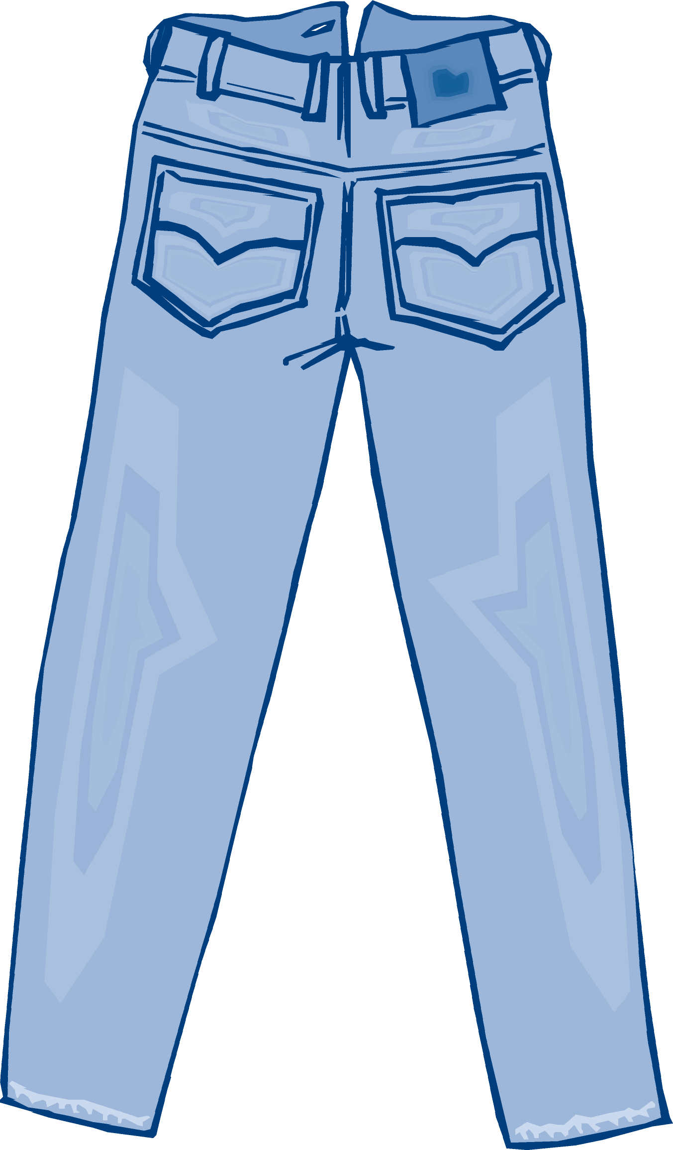 Image Of Jeans - ClipArt Best