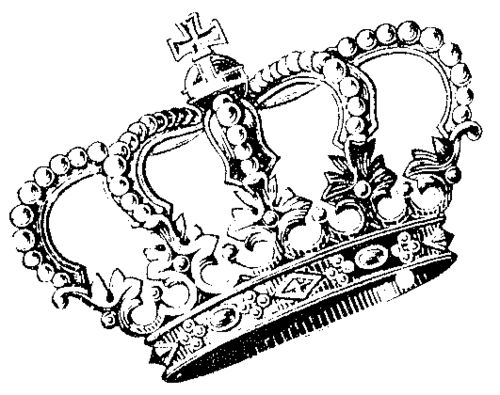 Need Make Use | Crown Drawing, Crowns and Brain - ClipArt ...