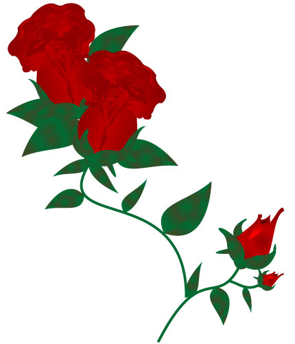 clip art flowers microsoft - photo #14