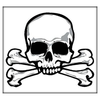 Pictures of skull and crossbones clipart best for Skull and crossbones tattoo