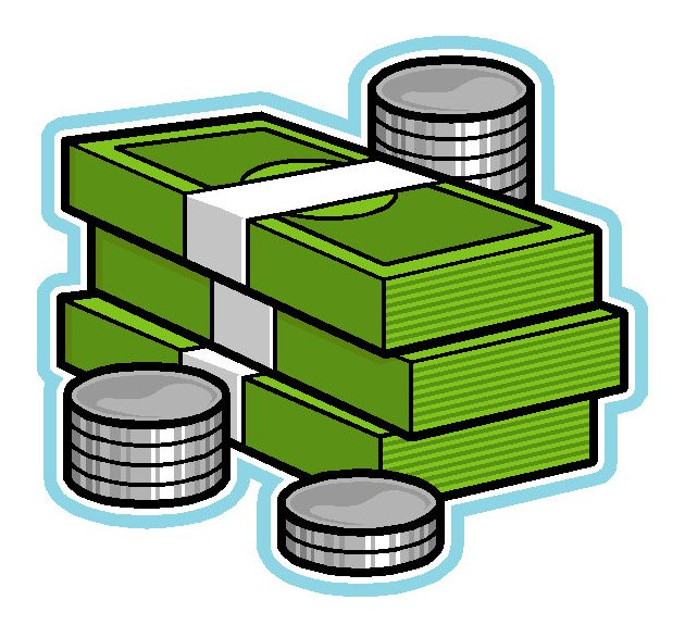 Money Stack Clip Art Stacks Of Money Clip A...