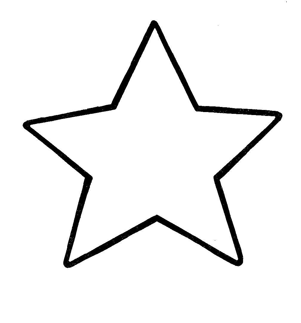 Star Clip Art Black And White Border | Clipart Panda - Free ...