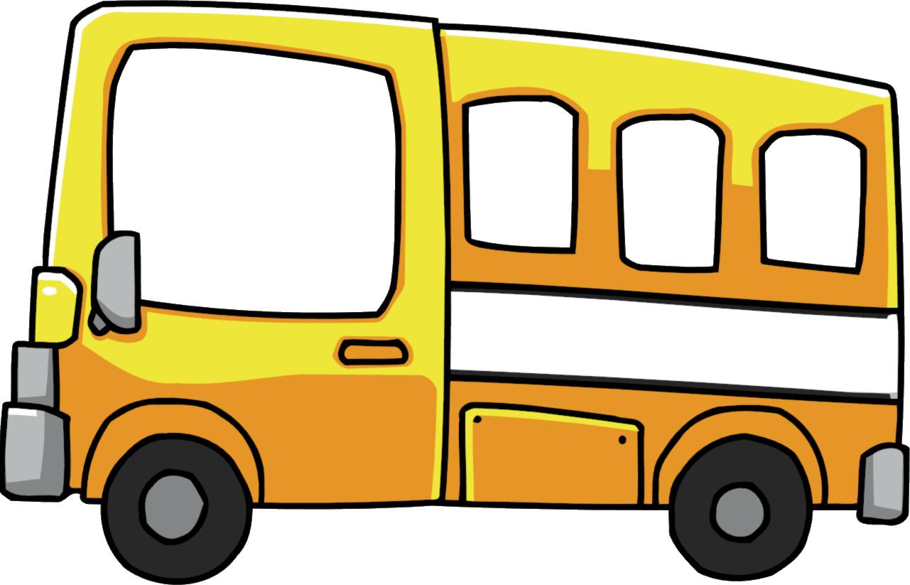 yellow bus clipart - photo #11