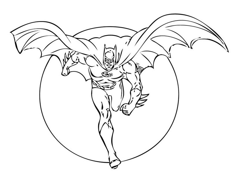 Free Printable Batman Coloring Pages For | Hagio Graphic
