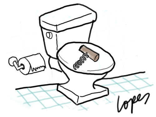 Funny Cartoon Toilet Pictures - ClipArt Best