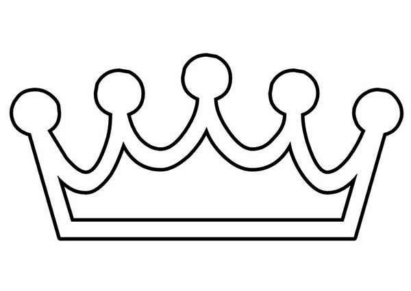 Princess Crown Coloring Pages | Princess crown drawing, Princess ... | 425x600