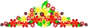 Flower Banner Clipart - ClipArt Best