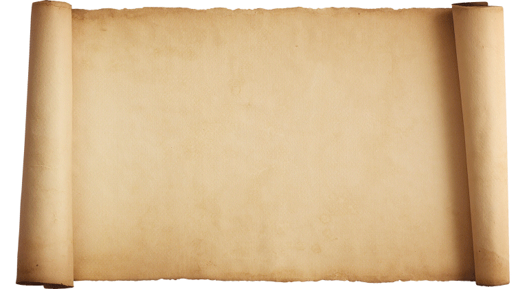 free blank scroll paper clipart best