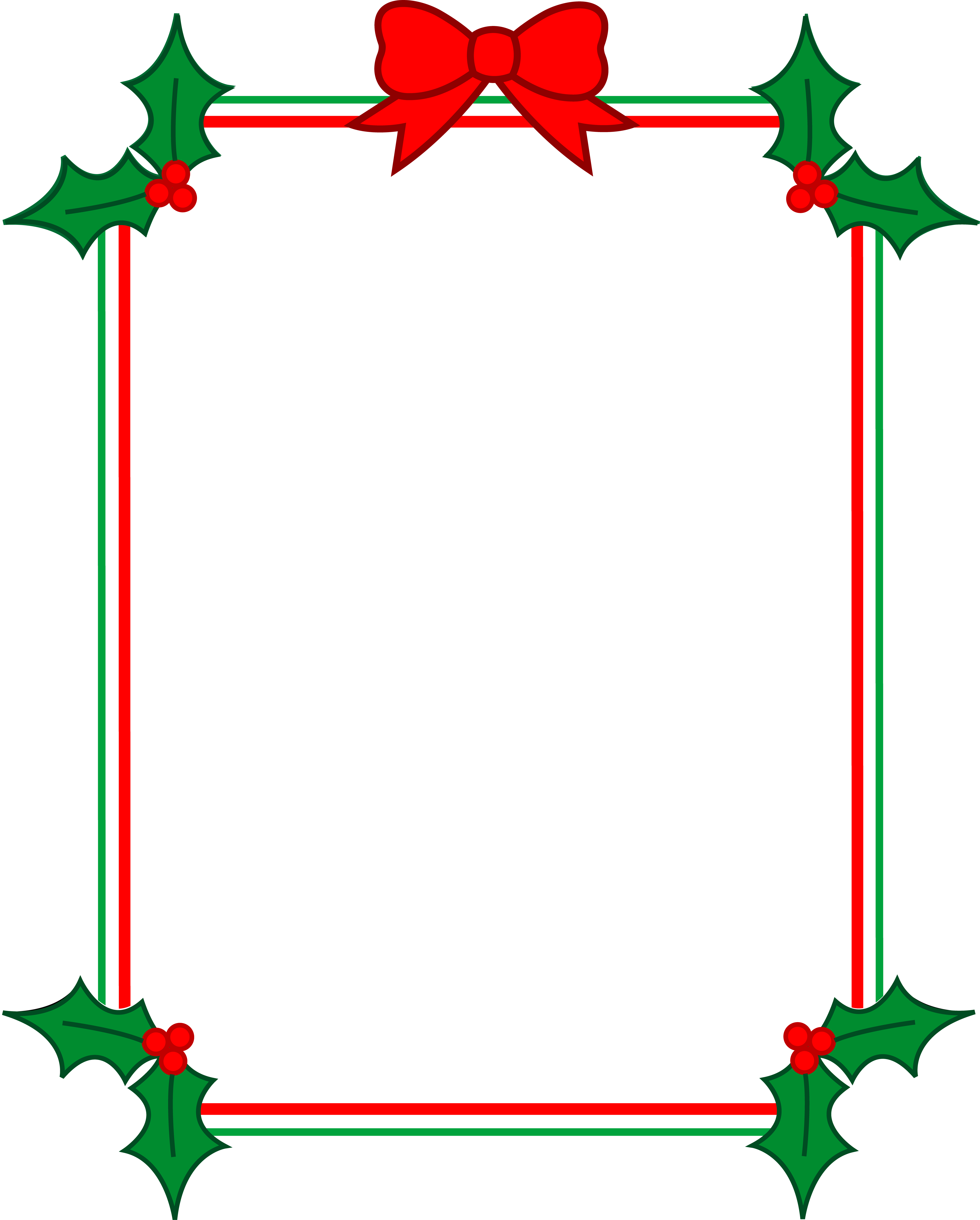 Christmas Frames And Borders Png - ClipArt Best - ClipArt ...