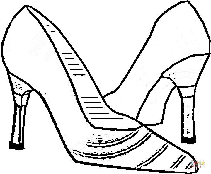 free coloring dutch shoe pages - photo#5