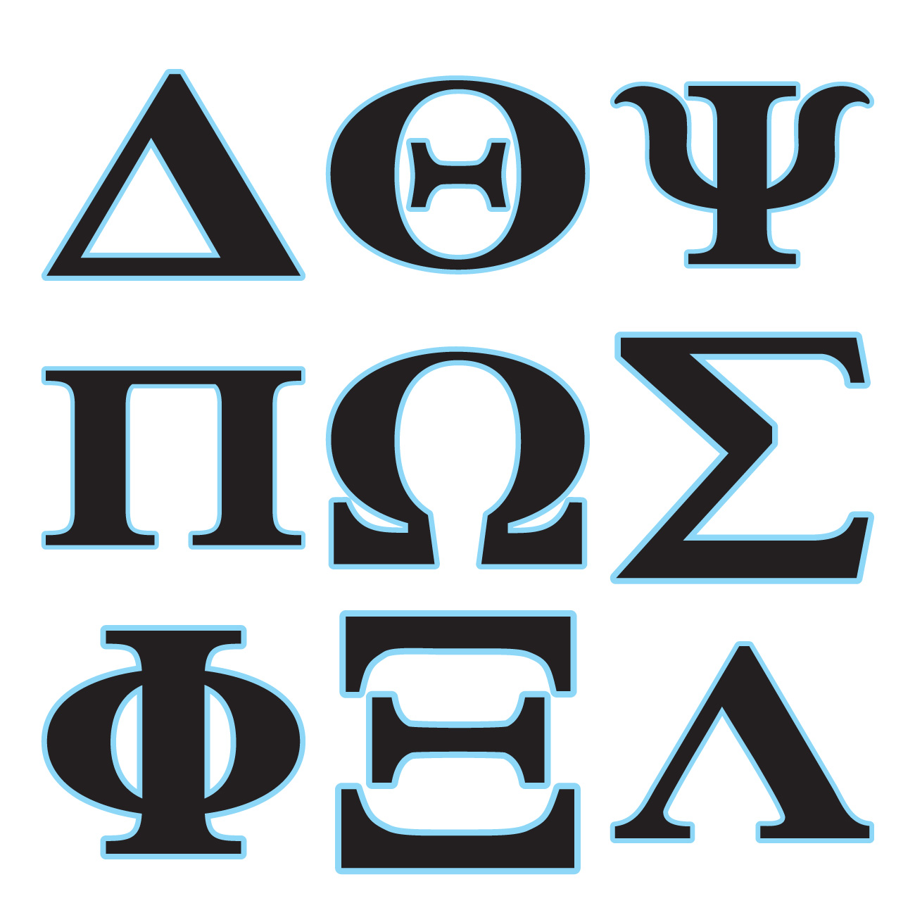 pictures of the greek alphabet clipart best With buy greek letters