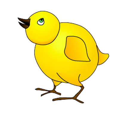 Cartoon Chicken Clipart Newborn Cute Farm Bird | Just Free Image ...