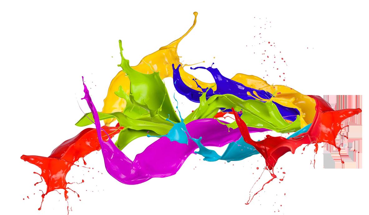 Colors png clipart best for Color splash wall art