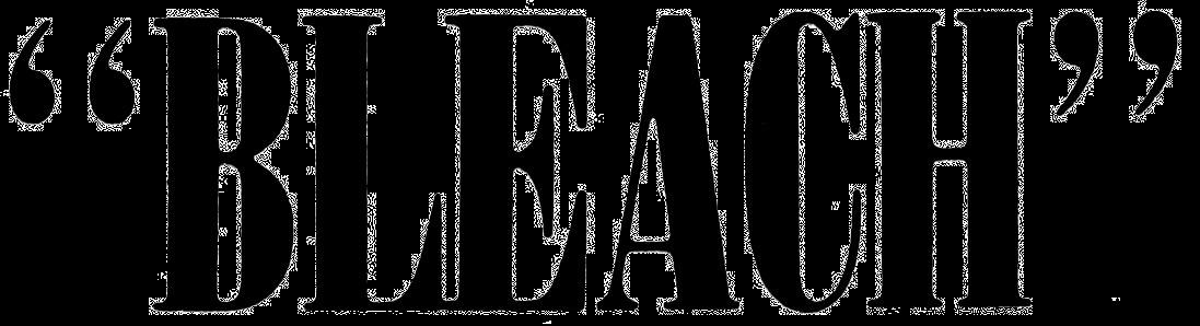 Bleach Logo Png - ClipArt Best