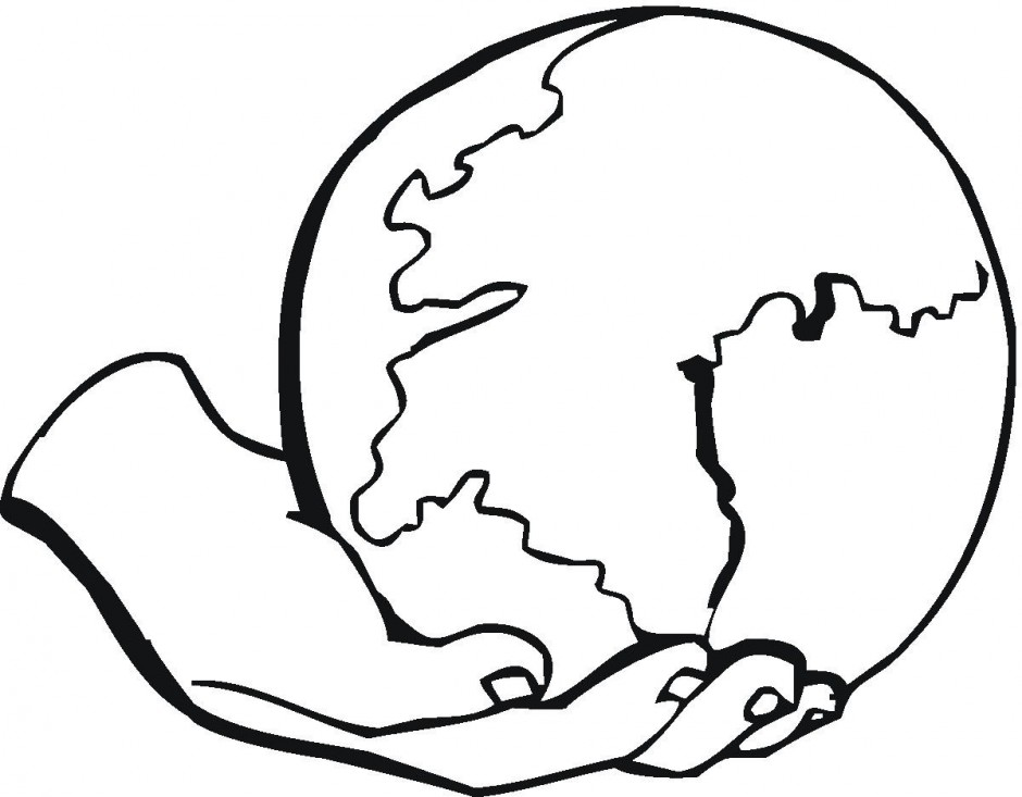 Line Drawing Earth Clipart Best