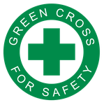 Logo - Green Cross For Safety by scrollmedia on DeviantArt
