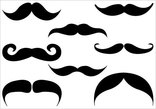 Clip Art Mustache Clipart Best