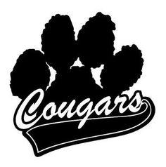 Image result for clip art Cougar