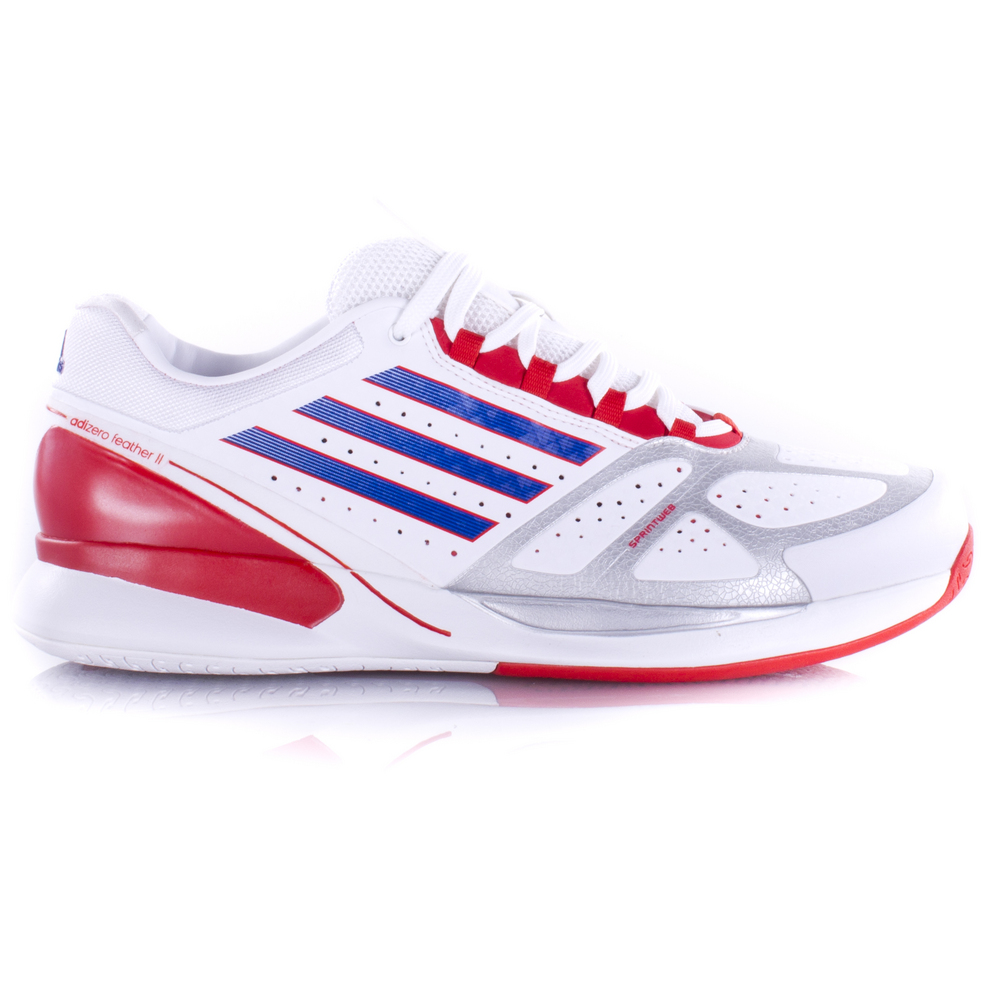 adidas adizero feather ii tennis shoes