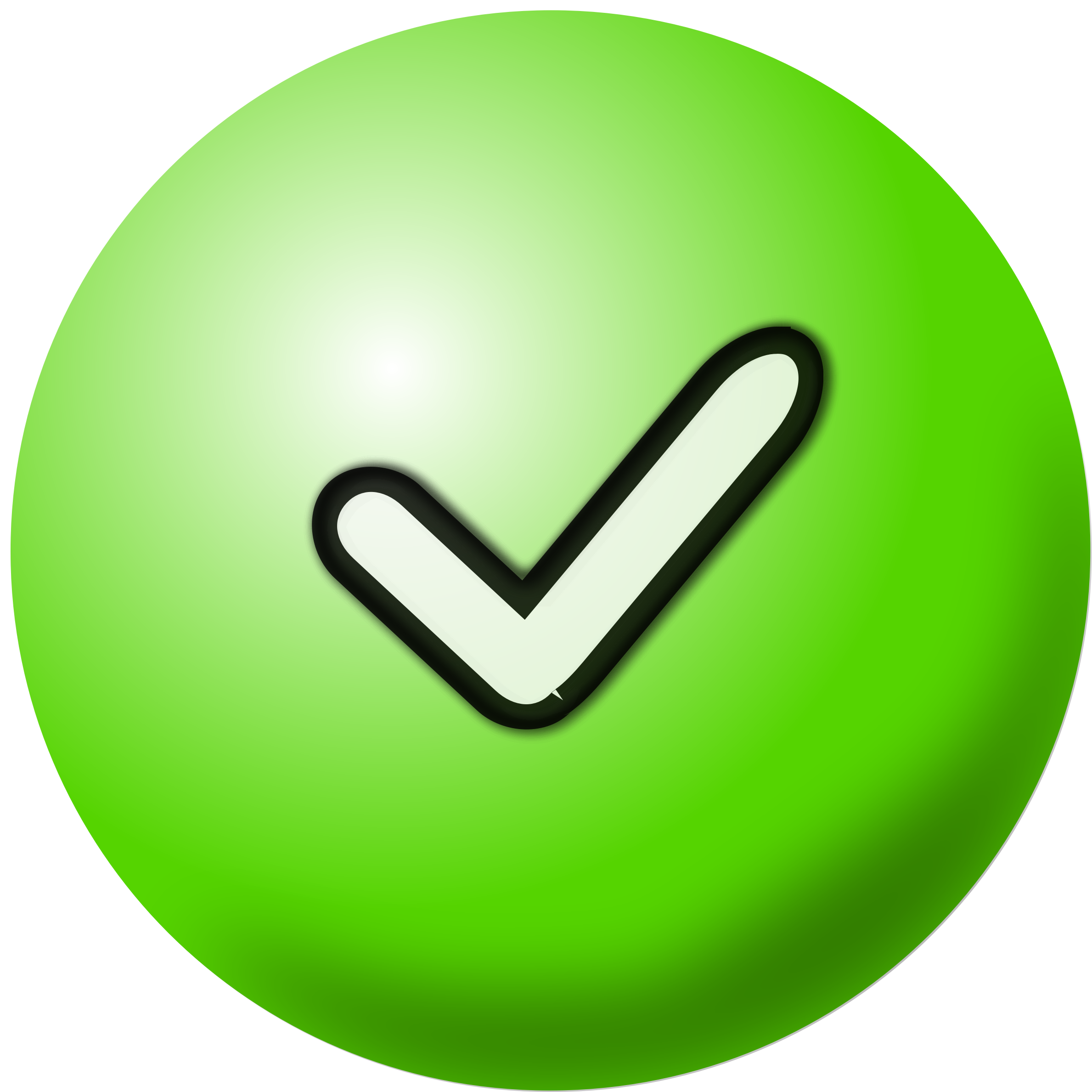 Green Check Mark Icon Clipart Best