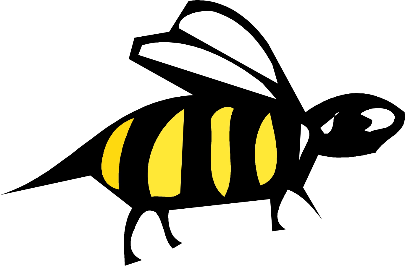 Free Bumble Bee clip art pictures