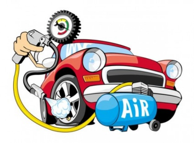 Old Red Car Cartoon - ClipArt Best