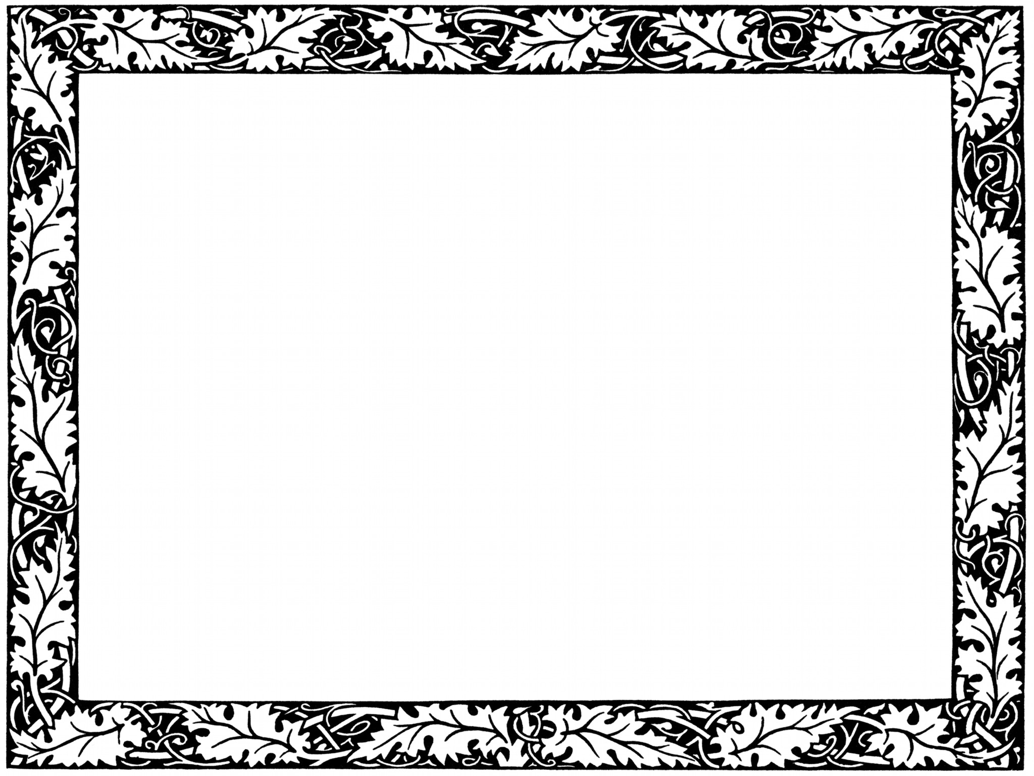 Decorative Page Borders