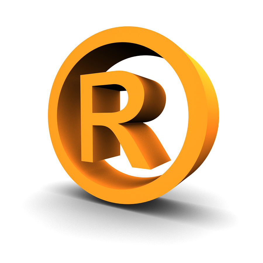 Registered Trademark Vector Logo