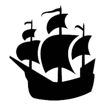 Pirate Ship Stencil ClipArt Best