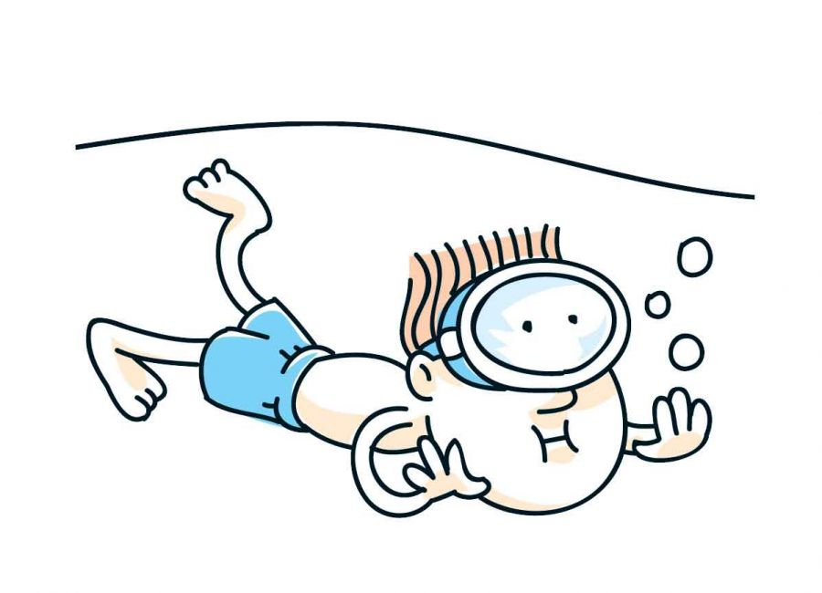 Cartoon Swimming Images Clipart Best