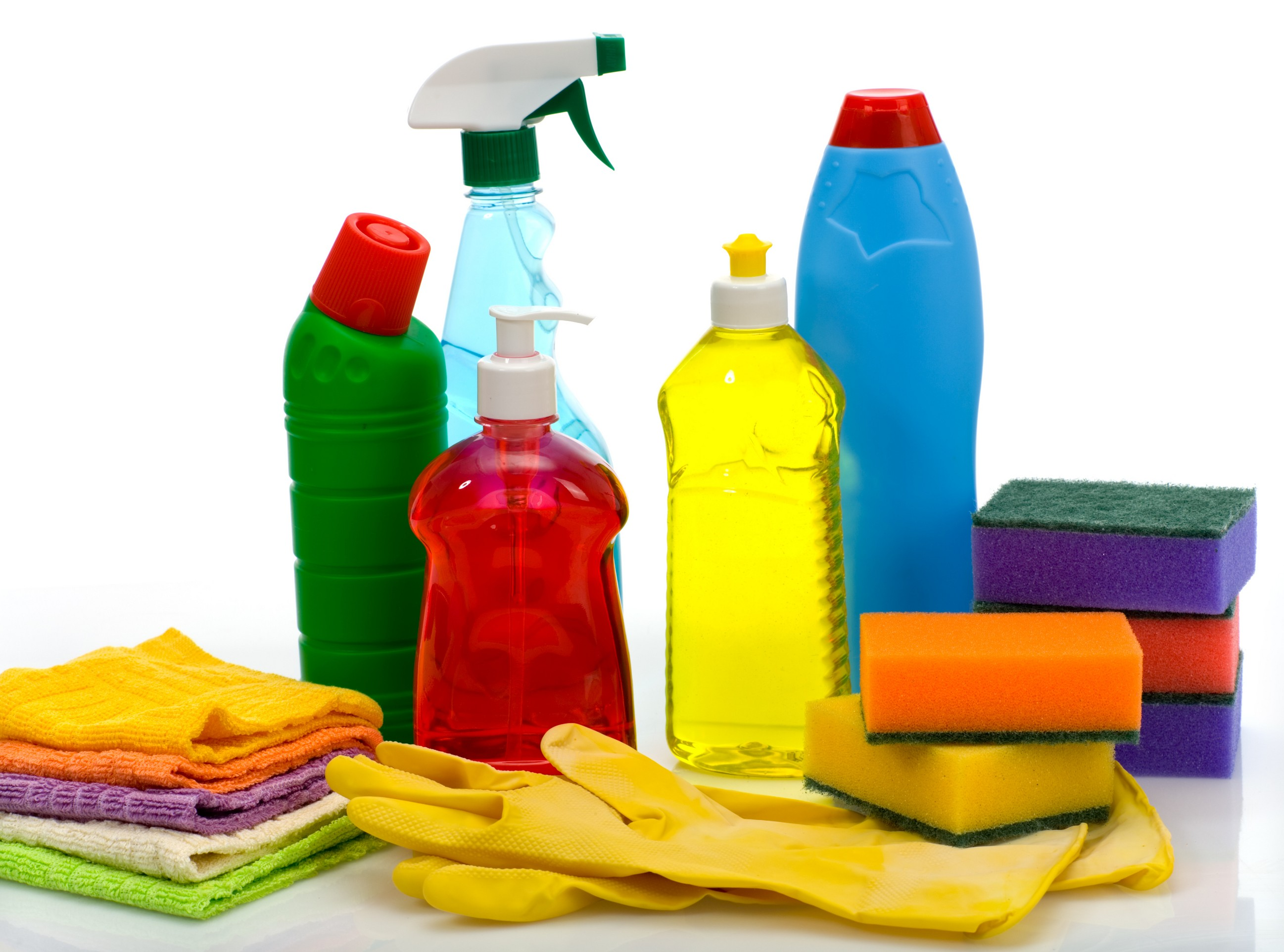 Cleaning supplies pictures clipart best - Detersivi you ...