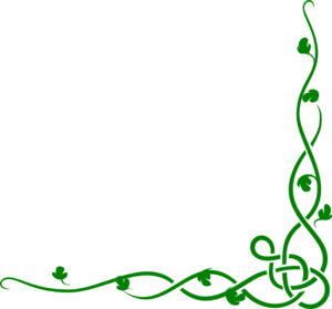 Solid Green Vine clip art - vector clip art online, royalty free ...