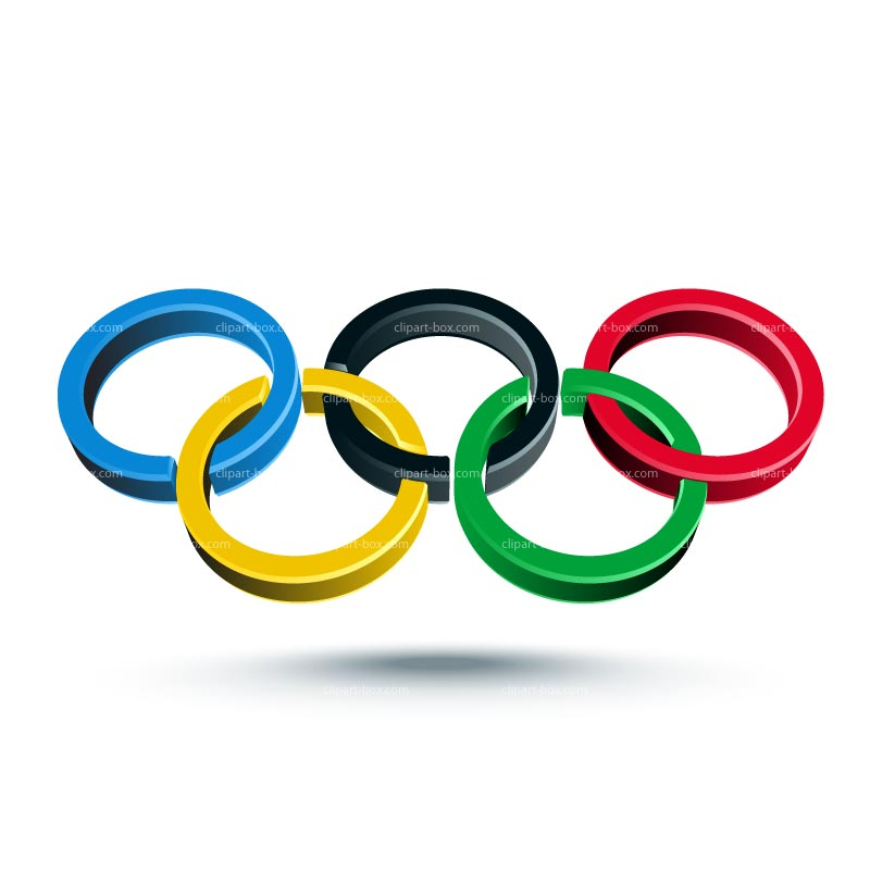 Olympic rings transparent background