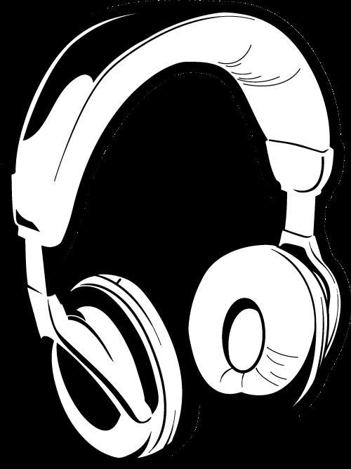 Line Art Headphones : Dj headphones clip art clipart best