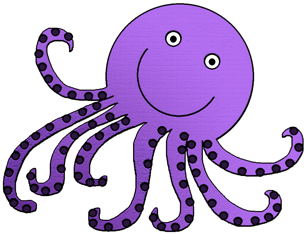 Clipart octopus clipart best for Octopus in cartoon