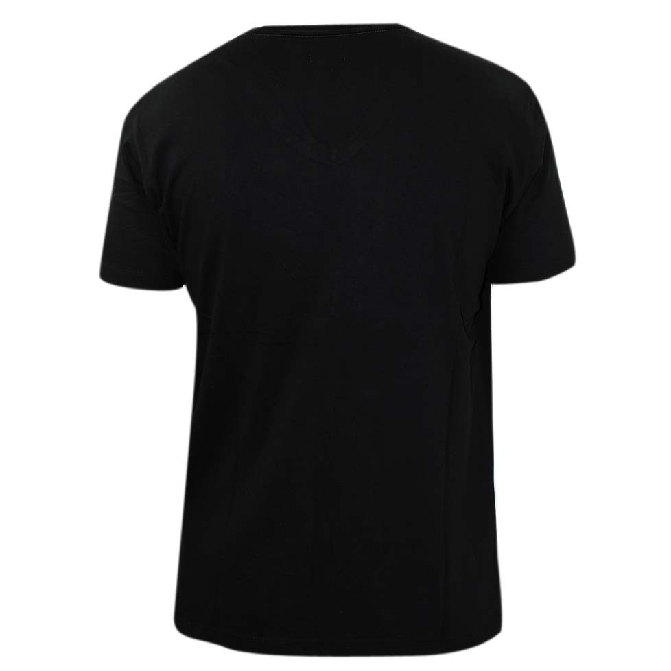 Plain black t shirt front and back for girls