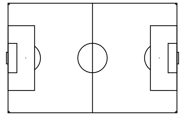 Diagram Of Football Pitch - ClipArt Best