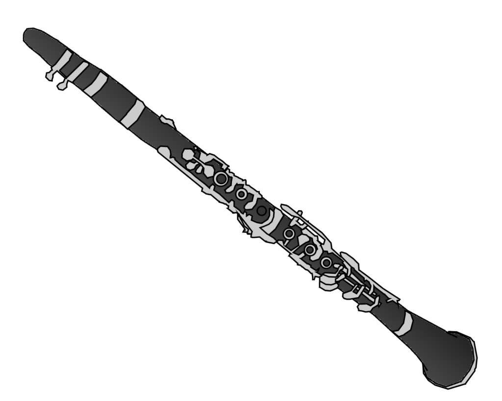 Images For > Bass Clarinet Silhouette - ClipArt Best ...