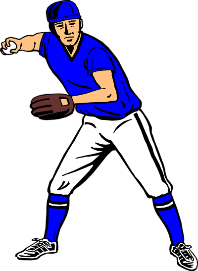 Free Clip Art Baseball Player - ClipArt Best